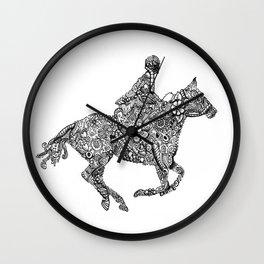 Horse Rider Wall Clock