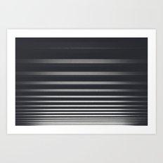 Black And White Stripes // Zebra Pattern Photography Art Print