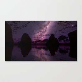 The Distant Lights Canvas Print