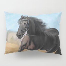 Drawing horse Pillow Sham