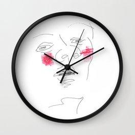 Shyness Wall Clock