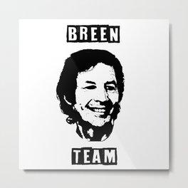 Breen Team Metal Print