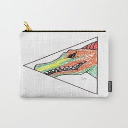 Peeking Spinosauras Carry-All Pouch