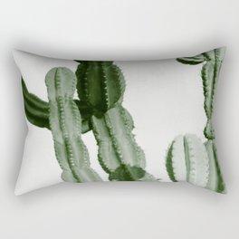 Vintage Cactus Print I Rectangular Pillow