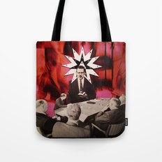 White Collar Witchery Tote Bag