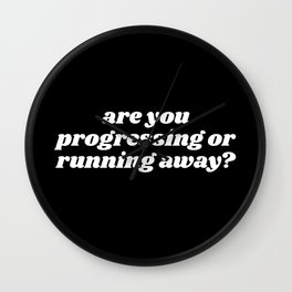 are you progressing Wall Clock