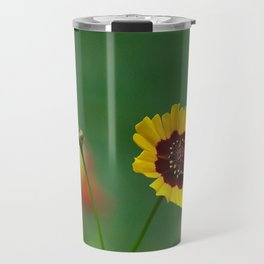 Coreopsis Flower Travel Mug