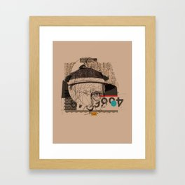 william s burroughs Framed Art Print
