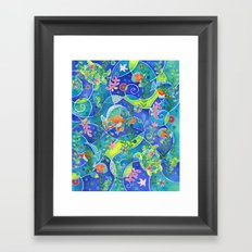 Undersea World Framed Art Print