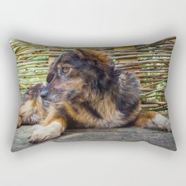 mongrel Rectangular Pillow