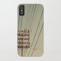 the wire iPhone & iPod Cases featuring wire by erinreidphoto