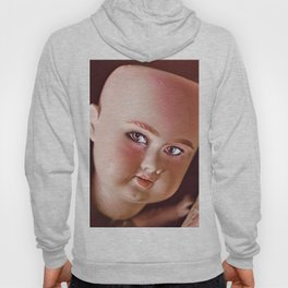 Pink Doll Face Hoody