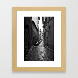 Alleyway (Florence) Framed Art Print
