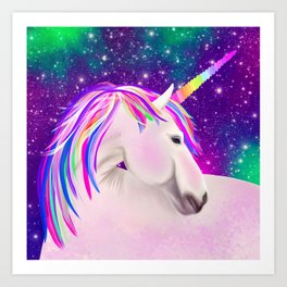 Celestial Unicorn Art Print