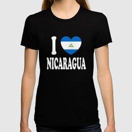 I Love Nicaragua T-shirt