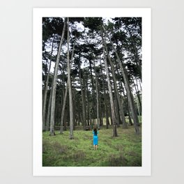 """Through the Woods"" Art Print"