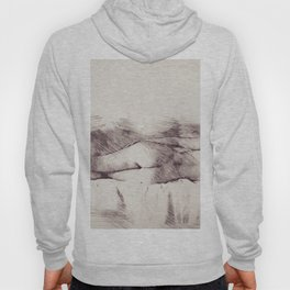 Lying on the bed. Nude studio Hoody