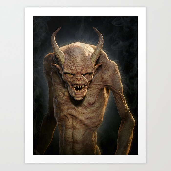 Demon III Art Print