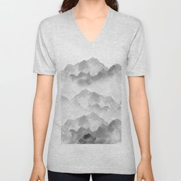 miss colored mountains Unisex V-Neck