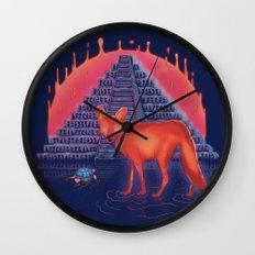 Viaje Misterioso Wall Clock
