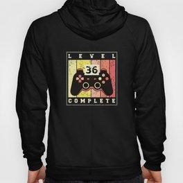 36th Birthday Gift Gamer 36 Years Gaming Hoody