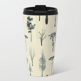trpical trees Travel Mug