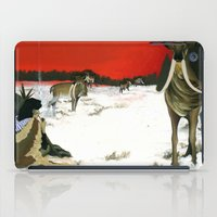 mythology iPad Cases featuring  Inuit Mythology: Chapter 1, part 3 by Estúdio Marte
