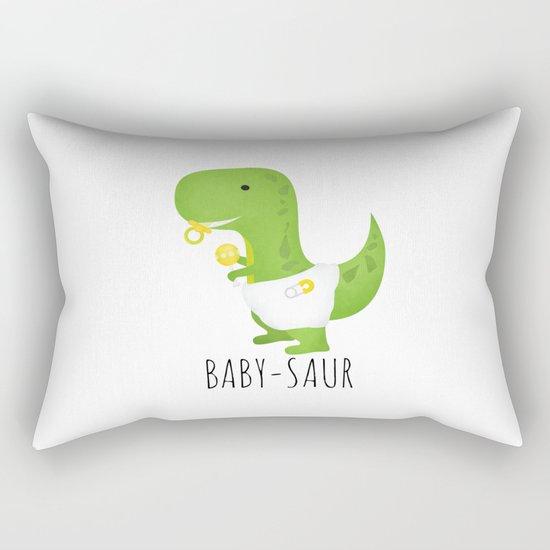 Baby-saur Rectangular Pillow
