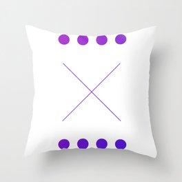 "The ""X"" Throw Pillow"