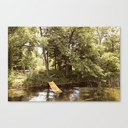 Country Water Park Canvas Print