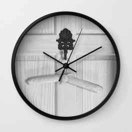 Bathroom Door  Wall Clock