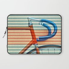Standard Striped Bike Laptop Sleeve