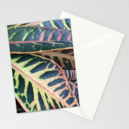 topical leaves Stationery Cards