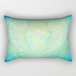 The Archangel Raphael - Angel of Healing Rectangular Pillow