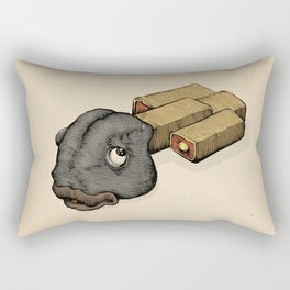 Fish Sticks Rectangular Pillow