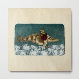 The Ice Fish Cometh Metal Print