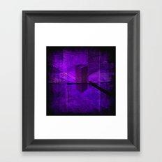 CENDRIER Framed Art Print