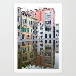 Reflecting the Good Life Art Print