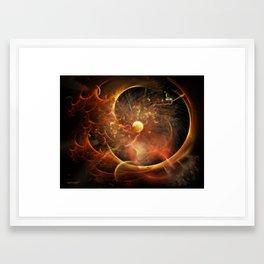 Born in the Vortex ~ The New Machine Framed Art Print