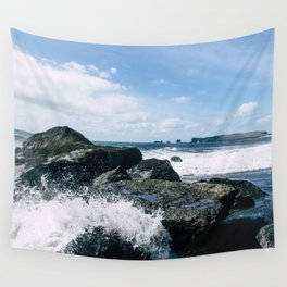 Crash Into Me Wall Tapestry