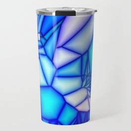 Glowing blue Travel Mug