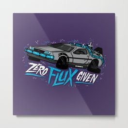 Zero Flux Given Metal Print