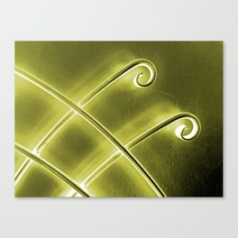 Papillon d'or Canvas Print