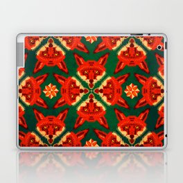 Fox Cross geometric pattern Laptop & iPad Skin
