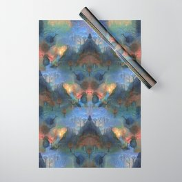 Foggy Birds Wrapping Paper