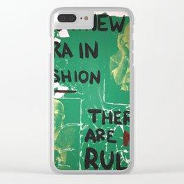 McQueen Clear iPhone Case