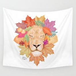 Autumn Leon Wall Tapestry