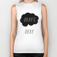 okay Biker Tanks featuring Okay? Okay by Lola