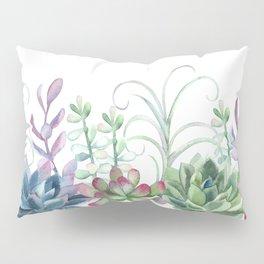 Succulents in The Garden Pillow Sham