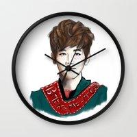 exo Wall Clocks featuring Baekhyun by TheRmickey